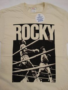 New Rocky Balboa Apollo Creed Knockout Movie T-Shirt #Rocky #GraphicTee