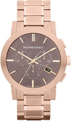 Burberry. Rose Gold.
