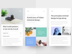 Design Blog (Mobile) Sneak Peek