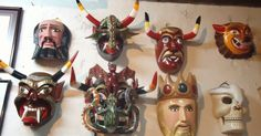 Don Juan Horta  was the epitome of Mexican folk art : He began the tradition of mask-making in Tócuaro, and this village on the banks of L...