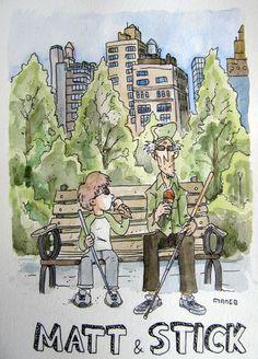 Matt and Stick by Manguinha.deviantart.com on @DeviantArt