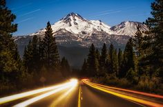 Mount Shasta by Derek Kind