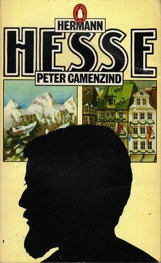 Peter Camenzind, de Hermann Hesse, publié dans la collection Penguin en 1973 – illustration de la couverture de David Pocknell