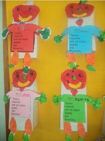 ...Το Νηπιαγωγείο μ' αρέσει πιο πολύ.: Ο Υγιεινούλης μας μας μαθαίνει να τρώμε σωστά. Healthy Eating, Logos, Kids, Eating Healthy, Young Children, Boys, Healthy Nutrition, Clean Foods, Logo