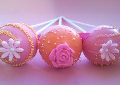 Flower cakepops — Cake Pops / Cake Balls