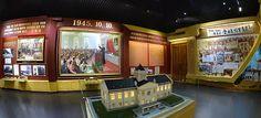 태양절을 맞으며 조선혁명박물관을 찾는 각계층 근로자들