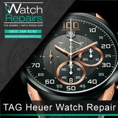 27462221fae TAG Heuer Watch Repair Services at WatchRepairShop. we are located in 34-35  Hatton