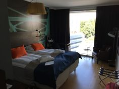 Standard room 818. Scandic Vulkan, Oslo, Norway