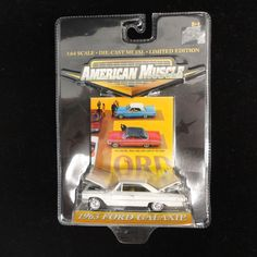Ertl Collectibles American Muscle 1963 Ford Galaxie 1:64 Scale Unopened » American Jewelry and Loan