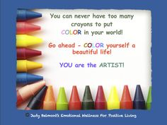 Put color into your life