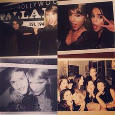 Tay's Besties and Her..... Nothing Cuter Than Taylor Swift and Her Friends Taking Selfies
