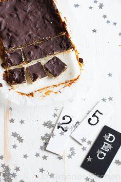 Millionairs shortbread met zoute karamel - Simone's Kitchen