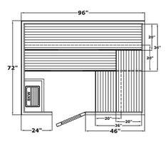 Finlandia precut Finnish sauna room with sauna heater. Build a sauna. Diamond Fitness serves Austin, Houston & DFW, in Texas. Diy Heater, Sauna Heater, Outdoor Sauna Kits, Indoor Sauna, Building A Sauna, Sauna Accessories, Traditional Saunas, Plastic Mat, Finland