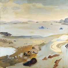 Low Tide, Fairfield Porter, 1962