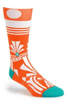 Free shipping and returns on Dwyane Wade & Stance 'Gatsby' Crew Socks at Nordstrom.com. Part of a special collaboration between Stance and NBA superstar Dwyane Wade, these cushioned, rib-knit crew socks feature an on-trend geometric print for a bold dose of cool color.