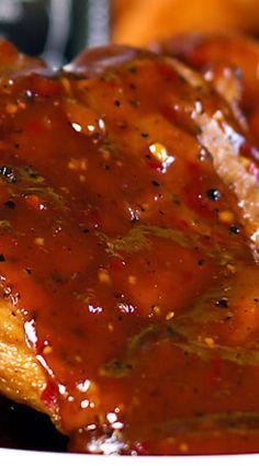 Jack Daniels Double Kick Pork Chops.