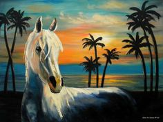 wow.....Horses in Paradise TELL ME YOUR DREAM - Gina De Gorna