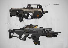 ArtStation - Weapons, Milan Nikolic: