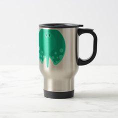 #Turqoise Stingray Primitive Style Travel Mug - #travel #accessories