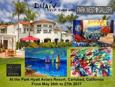 DUAIV Next VIP Event with Park West Gallery