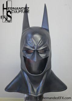 Arkham Asylum City Batman Cowl Mask by HernandezSculptureFX Batman Cowl, I Am Batman, Batman Comic Art, Batman Comics, Batman Robin, Nightwing, Batgirl, Batman Arkham Orígenes, Batman Redesign
