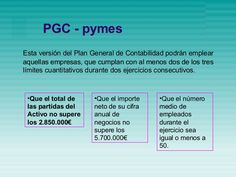 PLAN GENERAL CONTABLE PYMES