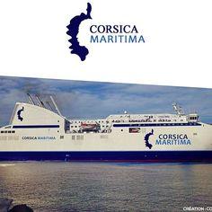 PARTICIPATION AU CONCOURS  DE LOGO DE CORSICA MARITIMA  Projet5 de Jean-Daniel