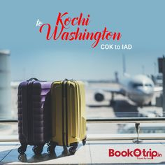 Cheap Flights from Kochi to Washington DC, Travel for less with BookOtrip. Exclusive phone only flight deals on Kochi to Washington DC Flight tickets. Washington Dulles International Airport, Book Flight Tickets, Airline Tickets, Hand Baggage, Book Cheap Flights, Travel Flights, Flight Deals, Travel Dating