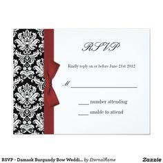 wedding invitationresponse card and reception response cards