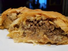 Greek Recipes, New Recipes, Party Buffet, Spanakopita, Cheesesteak, Finger Foods, Apple Pie, Food And Drink, Pizza