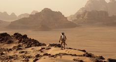 """Recensione di """"The Martian-Sopravvissuto, il film di Ridley Scott tratto dal libro di Andy Weir """"L'uomo di Marte""""."""