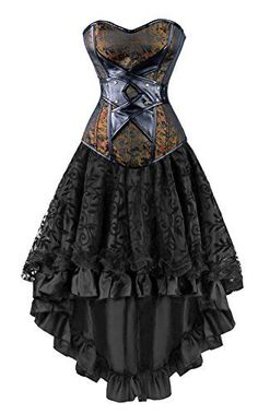 Kimring Women's 2 Pcs Vintage Gothic Victorian Brocade Em... https://smile.amazon.com/dp/B01MPXVSGQ/ref=cm_sw_r_pi_dp_x_AptBybKM3V6TR