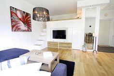 Интерьер квартиры-студии 35 м в Швеции