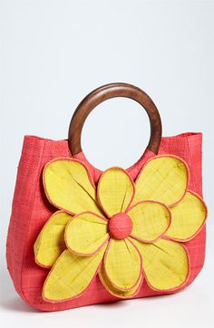 love this flower tote via nordstrom