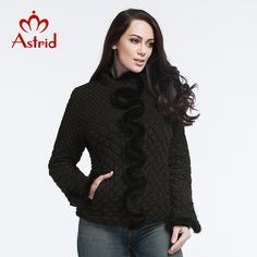 2016 Astrid New Fashion Women Jacket High Quality Elastic Tops Leisure Winter Mink Coat Women Plus Size XL-6XL AM-8828 #>=#>=#>=#>=#> Click on the pin to check out discount price, color, size, shipping, etc. Save and like it!