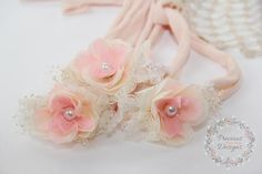 Hey, I found this really awesome Etsy listing at https://www.etsy.com/listing/603580663/newborn-tieback-headband-blush-pink