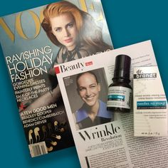 It's finally here! @Vogue and I are happy to announce my latest innovation in #antiaging #skincare, Needles No More. Inspired by #botox without the syringe, the cream will change the way you look at #wrinkles- literally! Available in stores @Sephora.