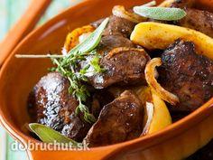 Kuracie pečienky s jabĺčkami Pot Roast, Recipies, Beef, Ethnic Recipes, Food, Carne Asada, Recipes, Meat, Roast Beef