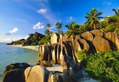 The Seychelles.  They say the American dollar goes pretty far here, but how much is it to get there?