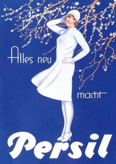 Persil laundry detergent ~ Eugen Prinz-Schulte