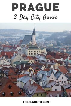 The essential long weekend guide to exploring Prague. Best things to do and see + tips on restaurants, bars, and nightlife. Travel in the Czech Republic. | Blog by the Planet D
