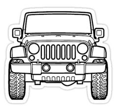 Cartoon Jeep Clip Art Jeep Wrangler Colouring Pages Back To