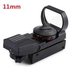 Hot Sale 20mm / 11mm Tactical Scope Hunting Optics Riflescope Holographic Red Dot Sight Reflex 4 Reticle Hunting Gun Accessories