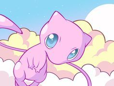 Mew You are calm and you can read other people's auras. Comienzo a creer que en verdad soy un Mew xd