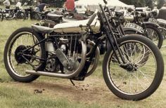 the only single-cylinder Brough Superior ever made, with 500cc JAP 'dog ear' racing engine, as per a customer's order- apparently.
