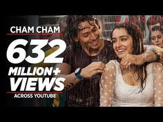 T-Series presents Cham Cham Full Video Song from Bollywood movie BAAGHI directed by Sabbir Khan, starring Tiger Shroff & Shraddha Kapoor in lead roles. Hindi Dance Songs, Dance Video Song, Good Dance Songs, Hindi Movie Song, Best Dance, Movie Songs, Hindi Movies, Shraddha Kapoor Baaghi, Ranbir Kapoor
