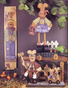 Album sous forme d& Decoupage Vintage, Tole Painting Patterns, Craft Patterns, Book Crafts, Arts And Crafts, Craft Books, Painted Books, Hand Painted, Country Paintings