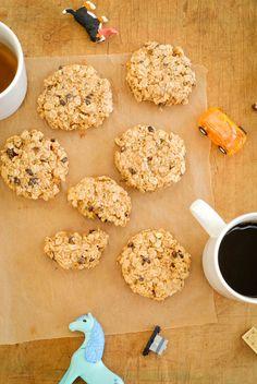 Healthy Breakfast Ideas Easy To Make : {gluten-free} super easy breakfast cookies Healthy Make Ahead Breakfast, Healthy Work Snacks, Health Breakfast, Super Healthy Recipes, Health Snacks, Healthy Foods To Eat, Breakfast Recipes, Breakfast Ideas, Healthy Treats