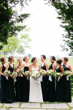 Loving all of the different bridesmaid dresses. Good find @Marty Arnold!!