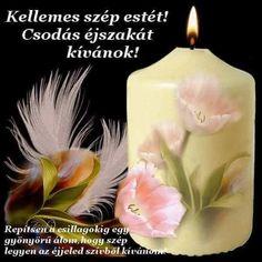 Good Night, Good Morning, Pillar Candles, Nighty Night, Buen Dia, Bonjour, Good Night Wishes, Good Morning Wishes, Candles